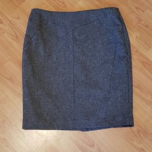 Worthington brown/tan pencil skirt